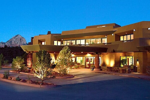 Front of Property - Evening/Night, Hyatt Residence Club Sedona, Piñon Pointe