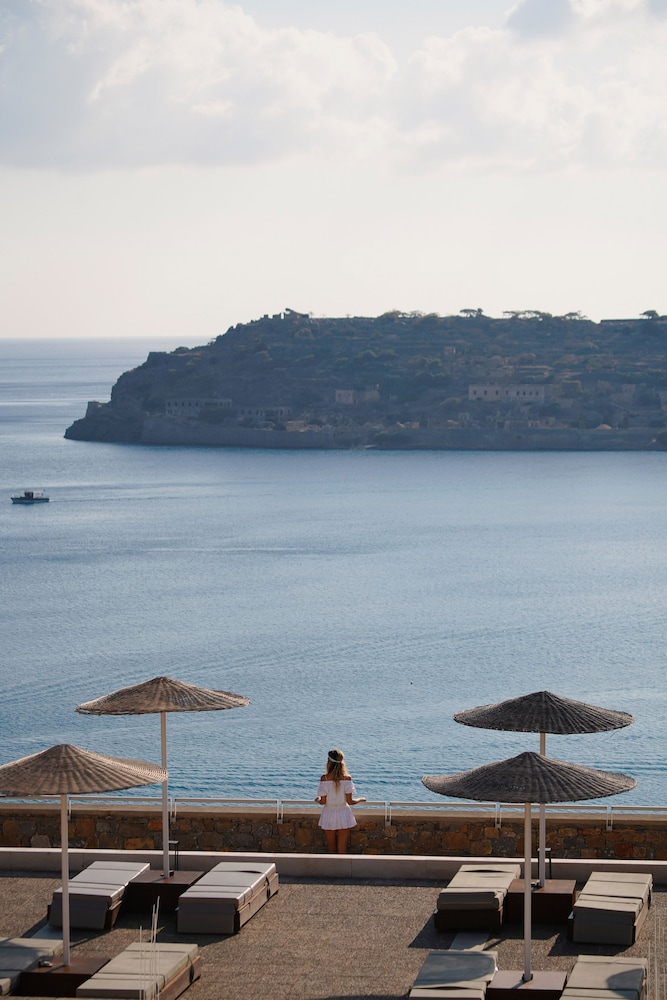 Terrace/Patio, Blue Palace, a Luxury Collection Resort and Spa, Crete