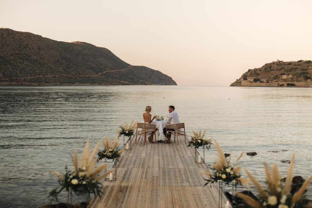 Couples Dining, Blue Palace, a Luxury Collection Resort and Spa, Crete