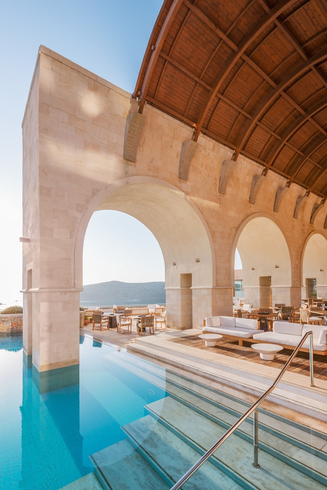 Poolside Bar, Blue Palace, a Luxury Collection Resort and Spa, Crete