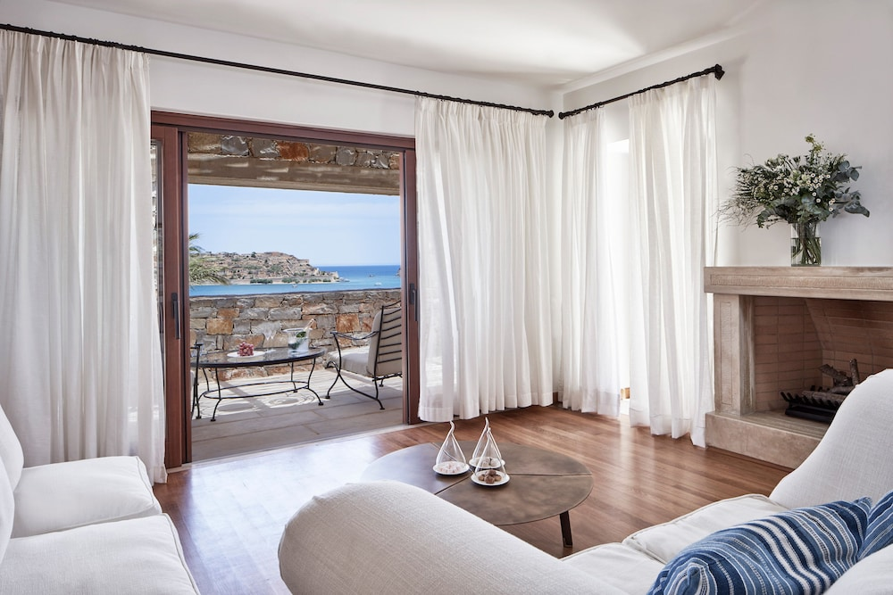 View from Room, Blue Palace, a Luxury Collection Resort and Spa, Crete