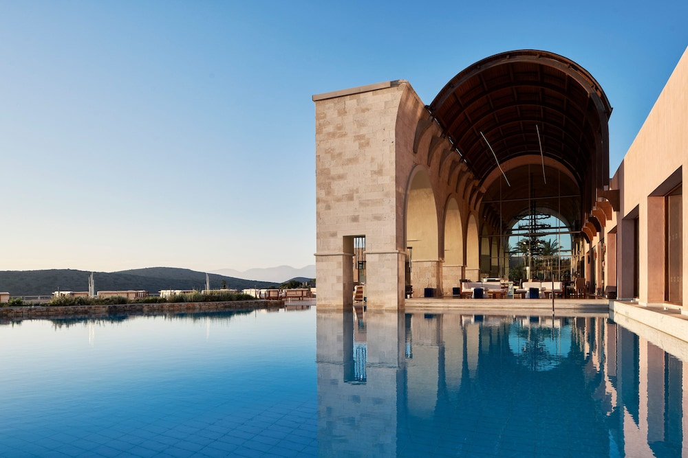 Building design, Blue Palace, a Luxury Collection Resort and Spa, Crete