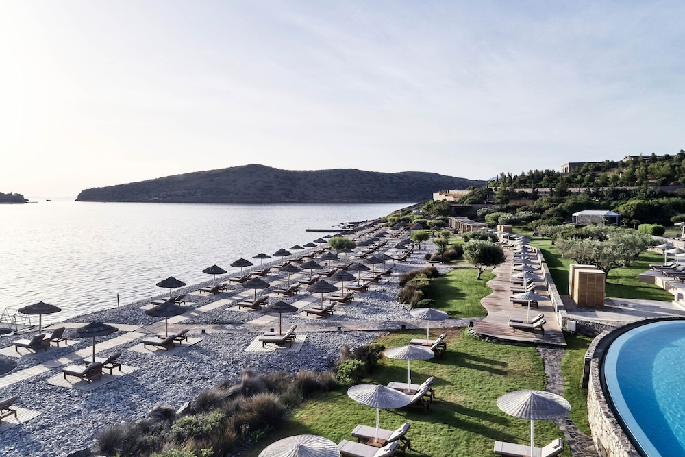 Electric vehicle charging station, Blue Palace, a Luxury Collection Resort and Spa, Crete