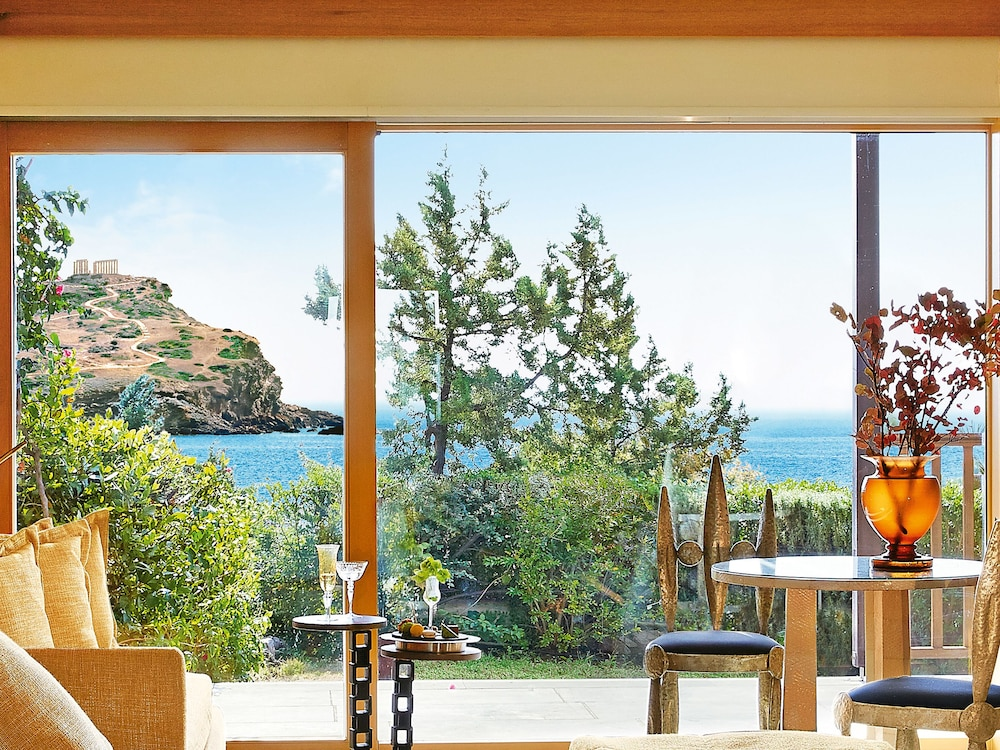 View from Room, Cape Sounio, Grecotel Exclusive Resort