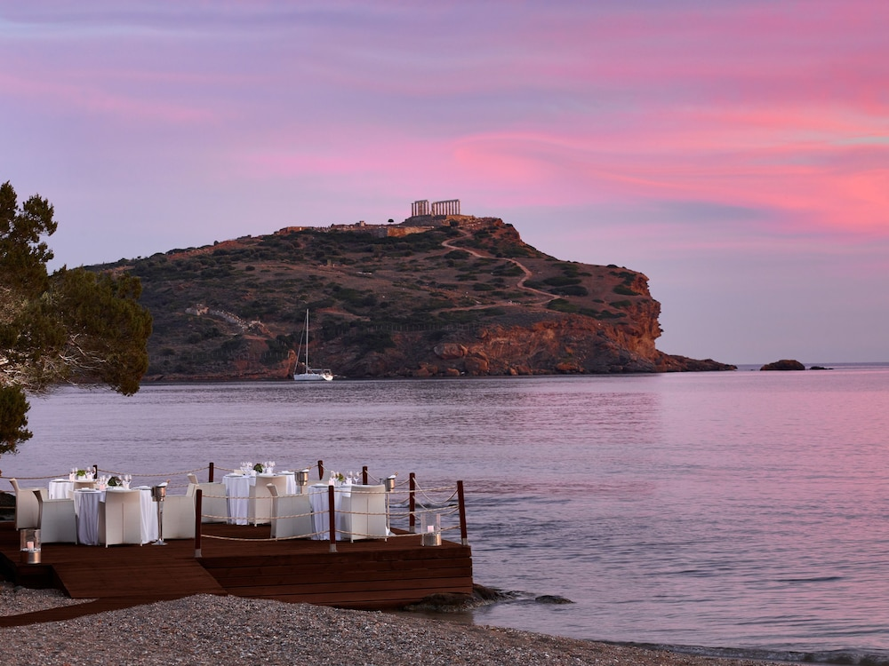 Outdoor Dining, Cape Sounio, Grecotel Exclusive Resort