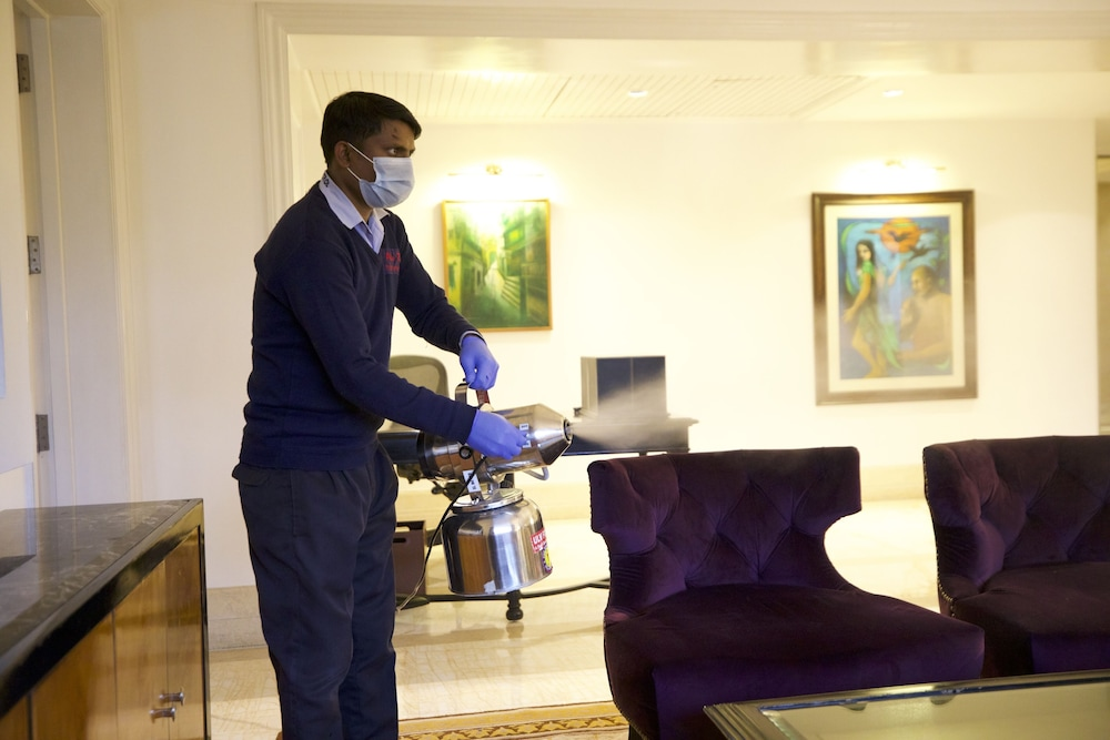 Cleanliness standards, The Claridges New Delhi
