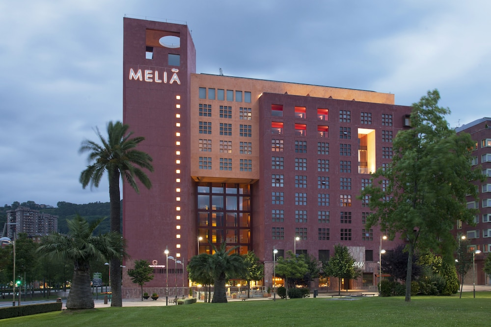 Front of Property, Hotel Melia Bilbao