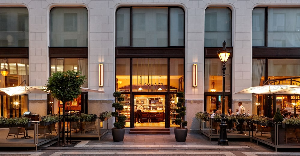 Outdoor Dining, Four Seasons Gresham Palace