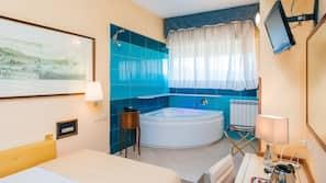 Biancheria da letto di alta qualità, minibar, una cassaforte in camera