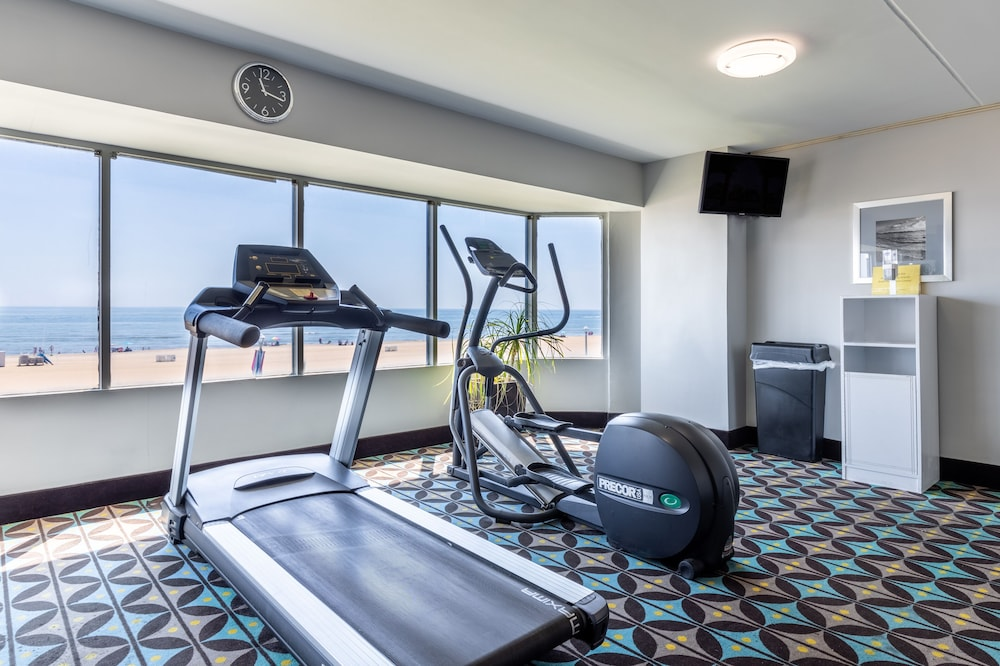 Fitness Facility, Best Western Plus Sandcastle Beachfront Hotel