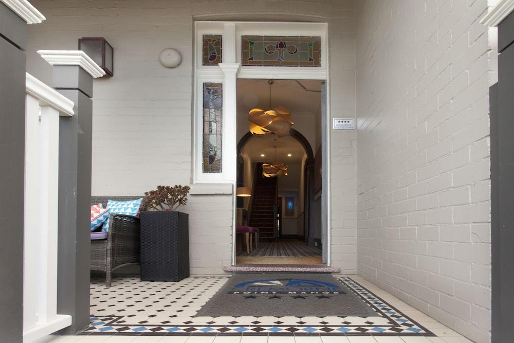 Property Entrance, Cremorne Point Manor