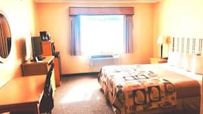 In-room safe, iron/ironing board, rollaway beds, free WiFi