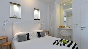 Hochwertige Bettwaren, Select-Comfort-Betten, Zimmersafe