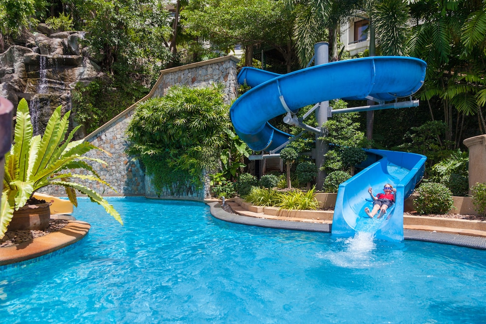 Waterslide, Diamond Cliff Resort and Spa