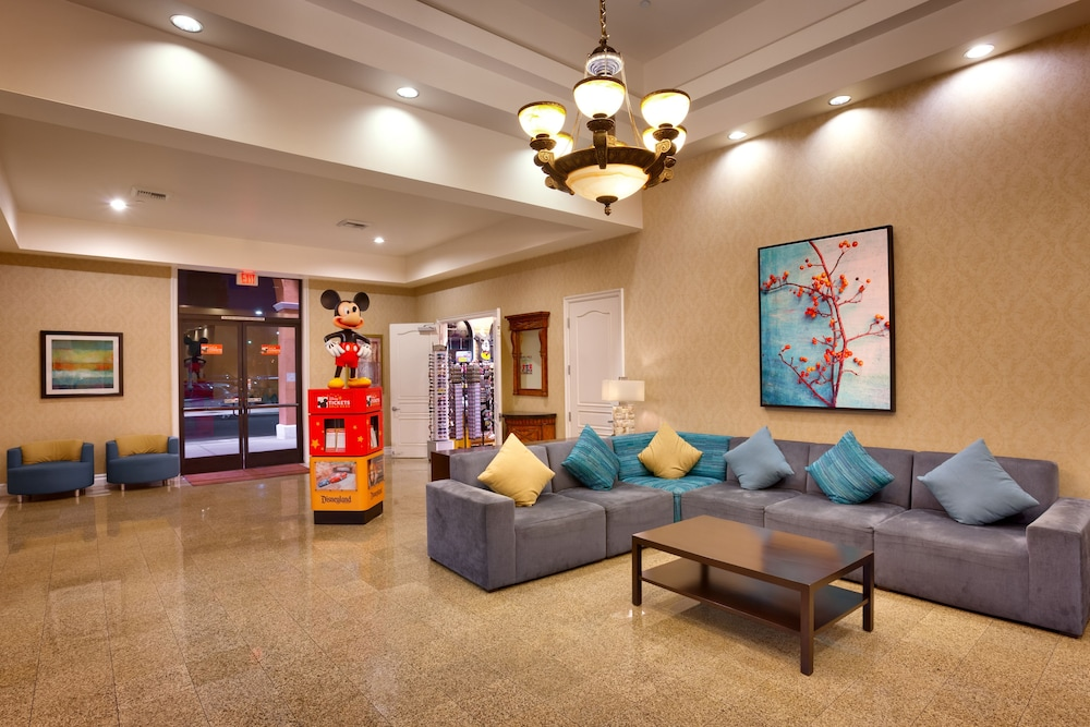 Lobby, Cortona Inn & Suites Anaheim Resort