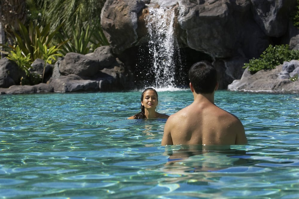 Pool Waterfall, The Islands at Mauna Lani, a Destination by Hyatt Residence