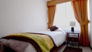 1 bedroom, in-room safe, iron/ironing board, free cots/infant beds