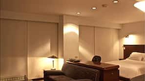 Couette en duvet d'oie, minibar, coffre-forts dans les chambres, bureau