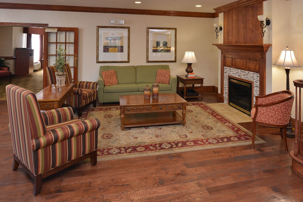 Fireplace, Country Inn & Suites by Radisson, Stone Mountain, GA