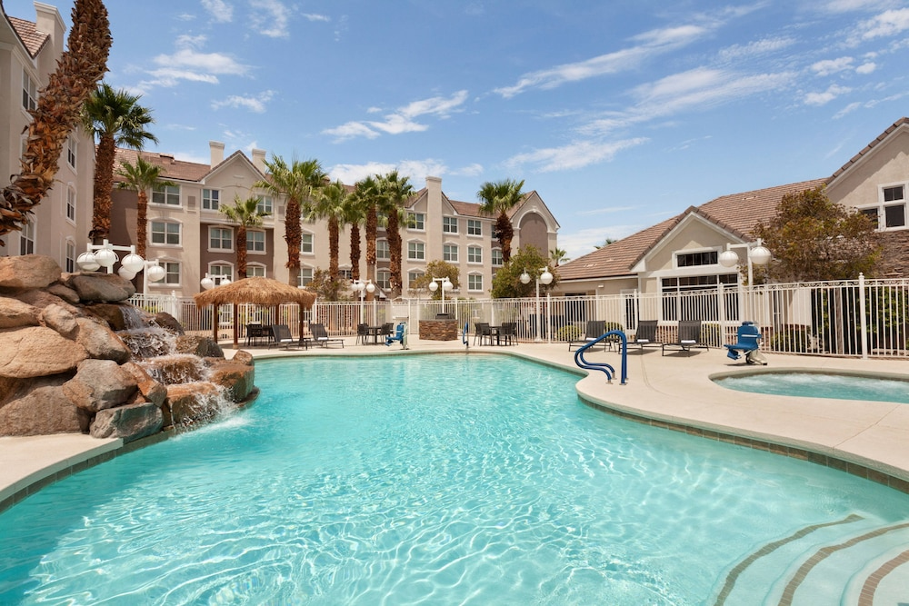 Outdoor Pool, Residence Inn by Marriott Las Vegas South