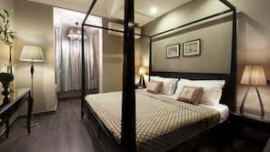 埃及棉床单、防过敏的被褥、Select Comfort 床、迷你吧