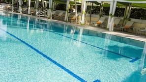 야외 수영장, 무료 카바나, 일광욕 의자