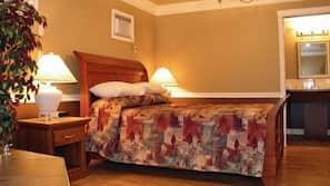 Minibar, iron/ironing board, free WiFi, alarm clocks