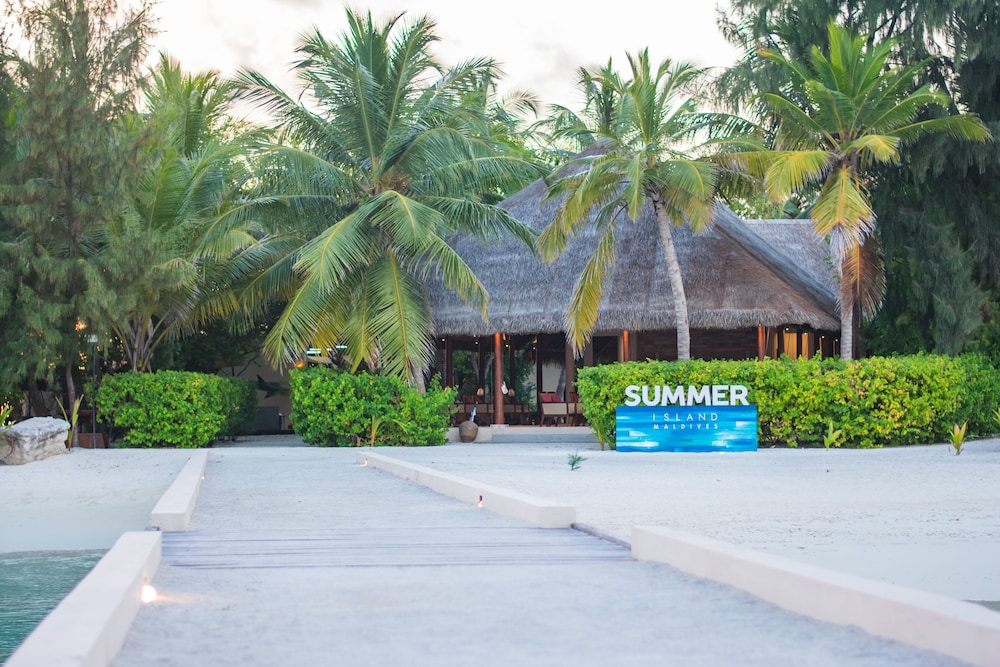 Front of Property, Summer Island Maldives
