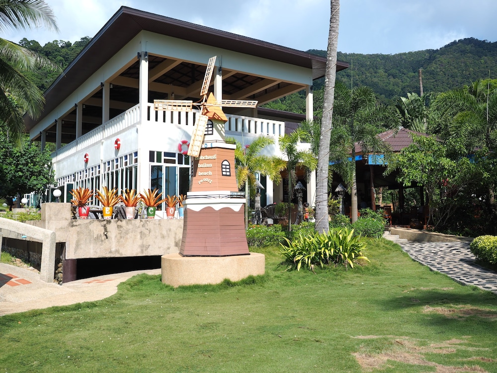 Front of Property, Bailan Beach Resort