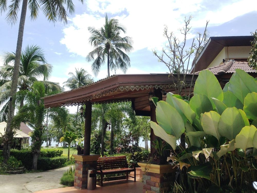 Property Entrance, Bailan Beach Resort