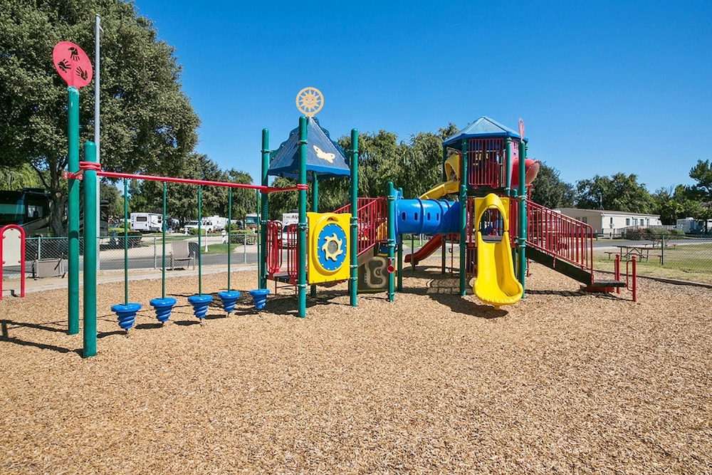 Children's Play Area - Outdoor, Flying Flags RV Resort & Campground