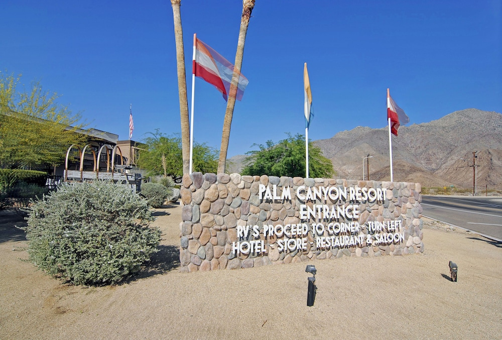 Exterior, Palm Canyon Hotel & RV Resort