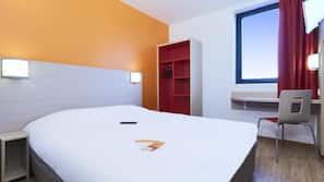 Chambres insonorisées, fer et planche à repasser, Wi-Fi gratuit