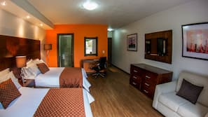 Colchones Select Comfort, minibar, caja fuerte y mobiliario individual