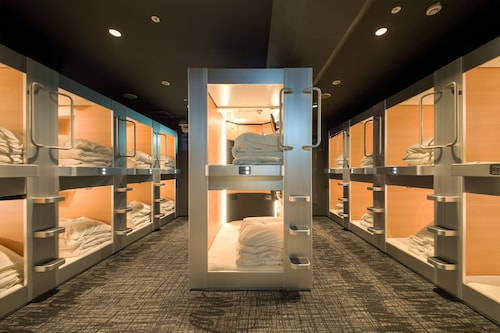 New Japan Capsule Hotel Cabana - Caters to Men
