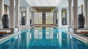 Indoor pool, 4 outdoor pools, cabanas (surcharge), sun loungers