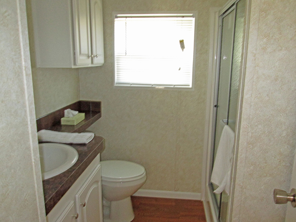 Bathroom, Southern Palms RV Campground Resort