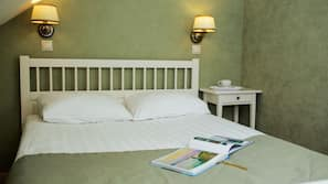 Minibar, blackout curtains, iron/ironing board, cots/infant beds