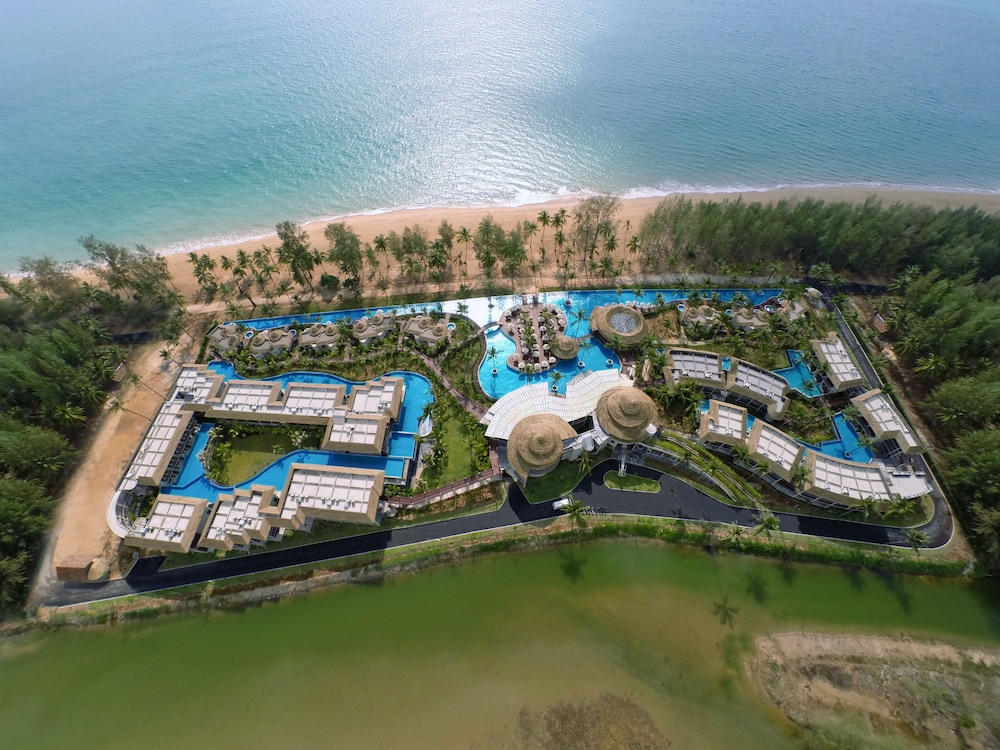 Aerial View, The Haven Khao Lak