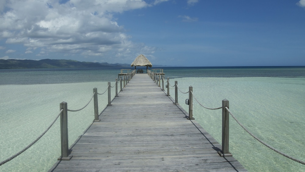 Dock, Punta Rucia lodge by Mint