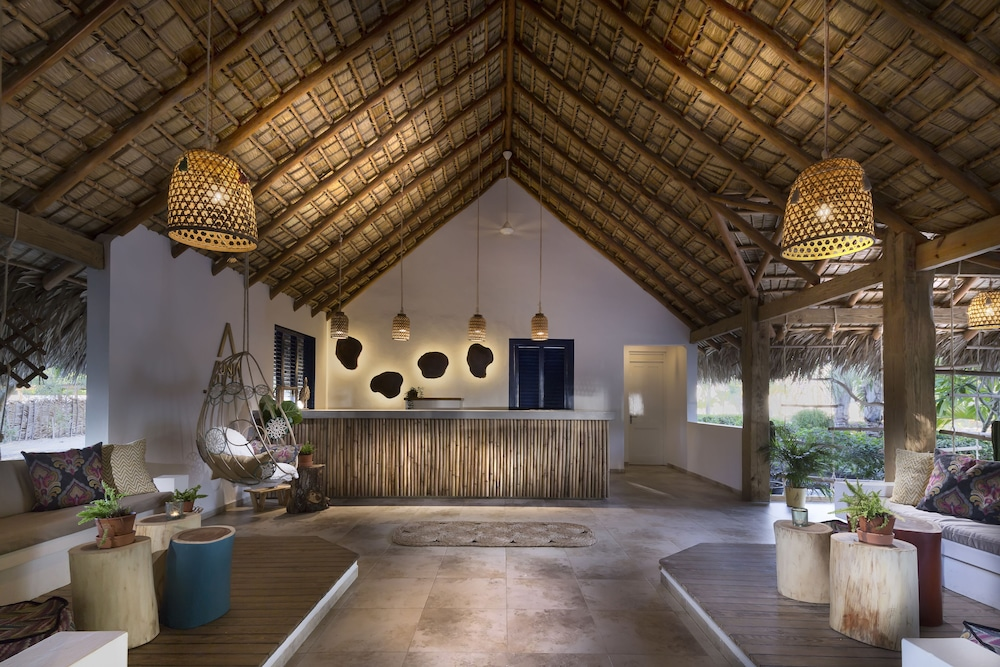 Reception, Punta Rucia lodge by Mint