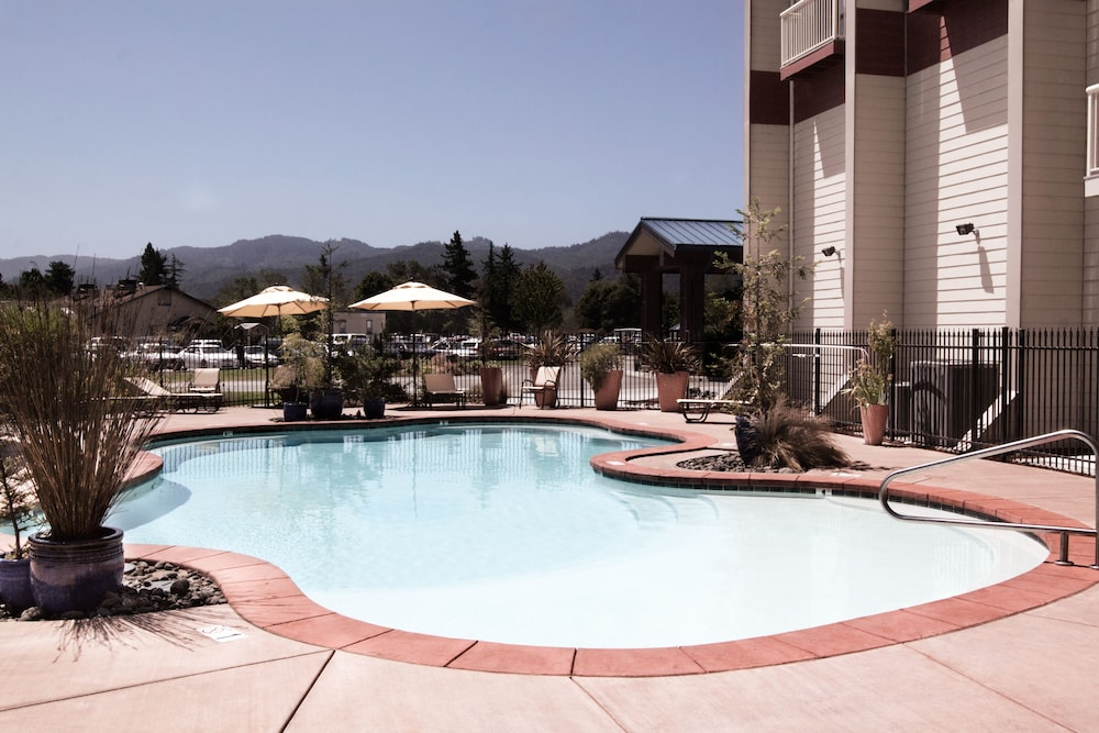 Outdoor Pool, Blue Lake Casino & Hotel
