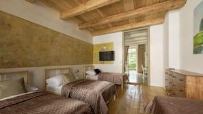 1 間臥室、高級寢具、熨斗/熨衫板、免費 Wi-Fi