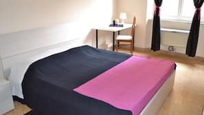 Down comforters, desk, free cribs/infant beds, rollaway beds