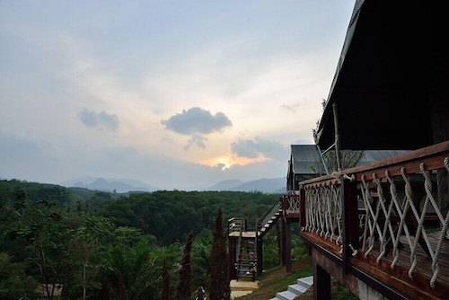 Balcony, Khaosok Boutique Camps