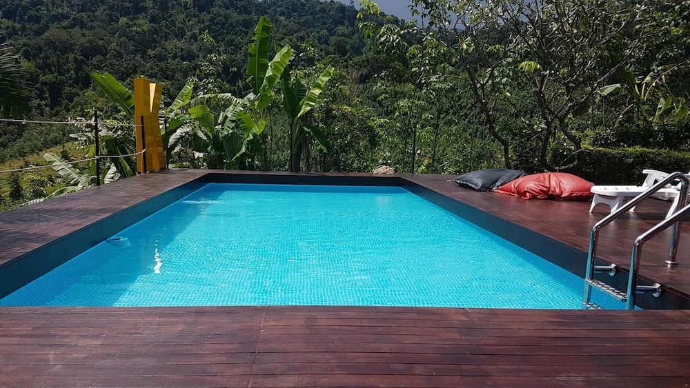 Outdoor Pool, Khaosok Boutique Camps