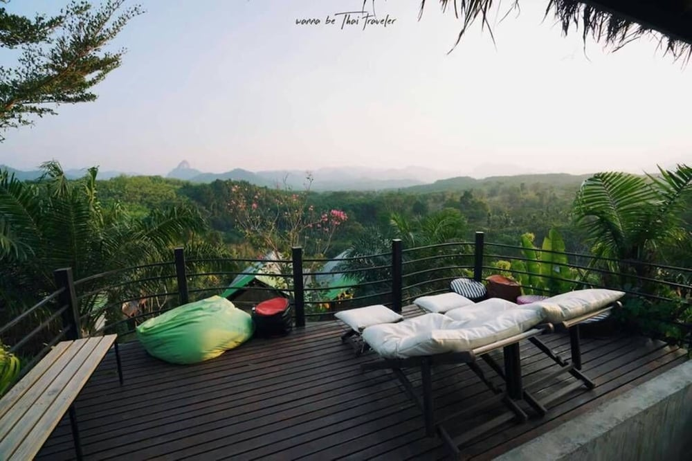 View from Property, Khaosok Boutique Camps