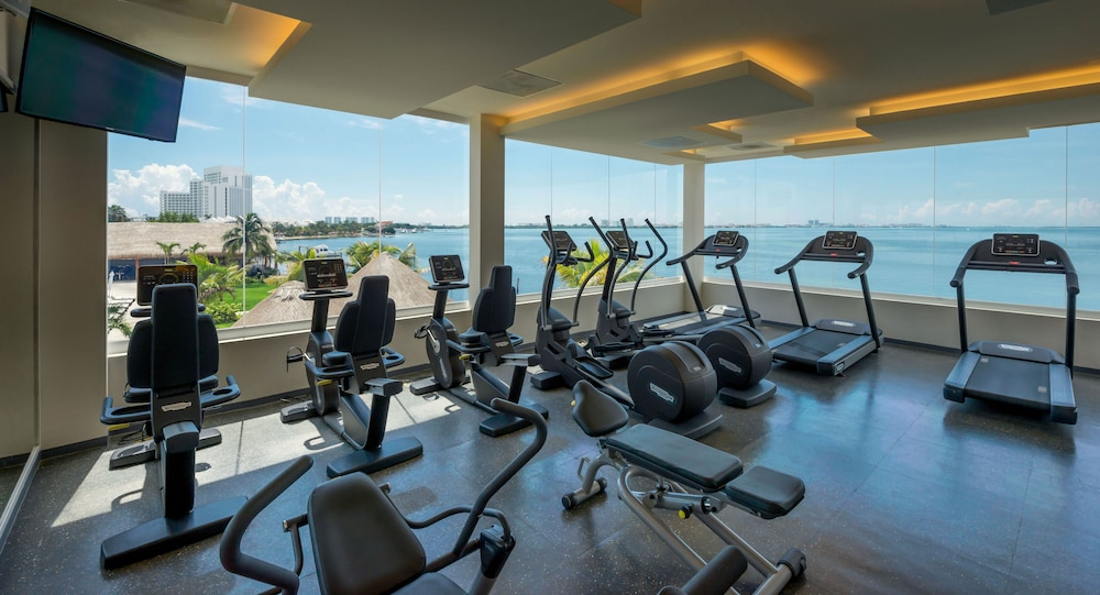Fitness Facility, Real Inn Cancun