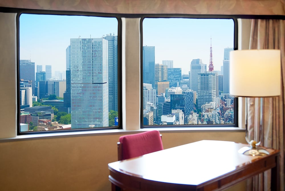 View from Room, Hotel New Otani Tokyo Garden Tower