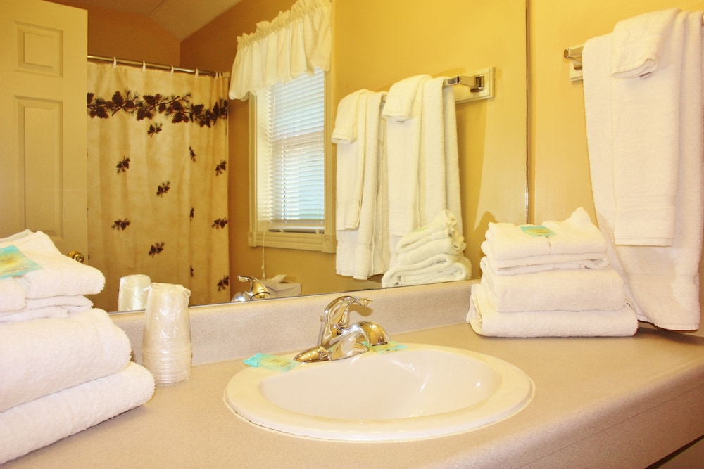 Bathroom, Mountain View Resort